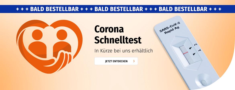 Corona Schnelltests: Bald Bestellbar