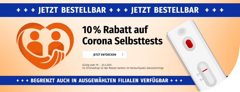 Corona Selbsttests