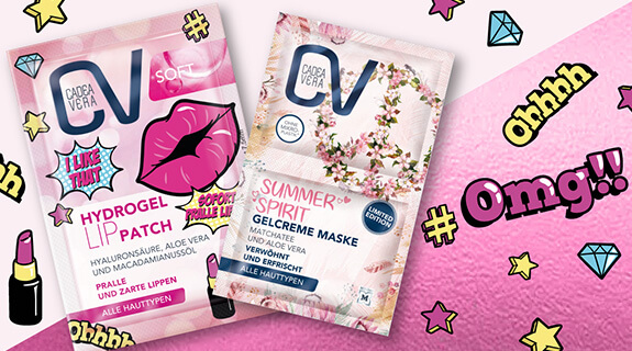 CV Lip Patch & Gelcreme Maske