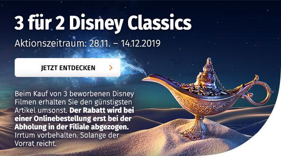 3 für 2 Disney Classics
