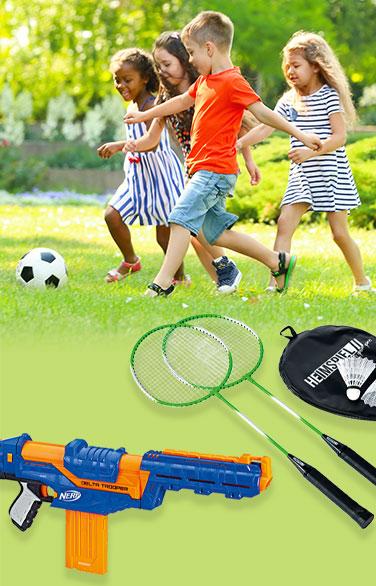 Spiel & Spaß im Freien