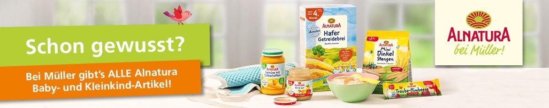 Alnatura Baby-und Kleinkindartikel bei Müller