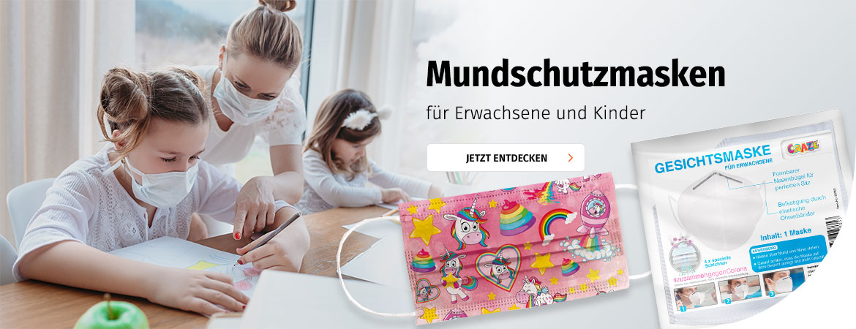 Mundschutzmasken bei Müller