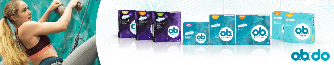 o.b.  Tampons bei Müller