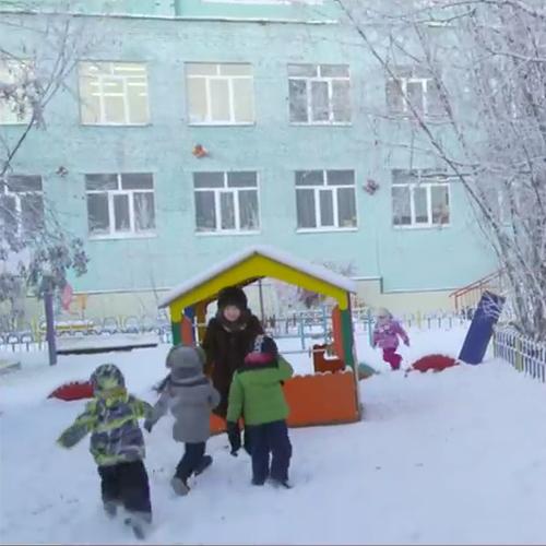 Schulen sind auch bei -49 °C geöffnet