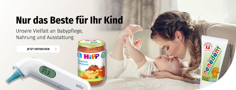 Babypflege bei Müller