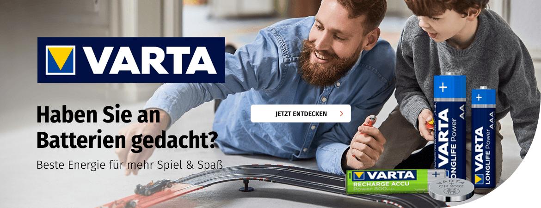 VARTA Batterien für Spielzeuge bei Müller