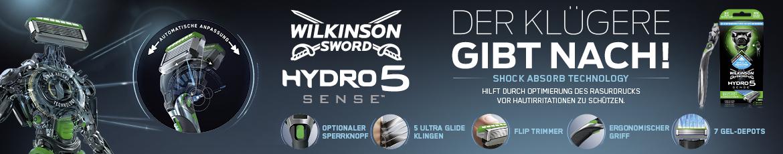 Neu: Wilkinson Hydro 5 Sense