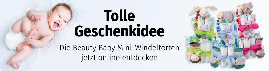 Windeltorten bei Müller