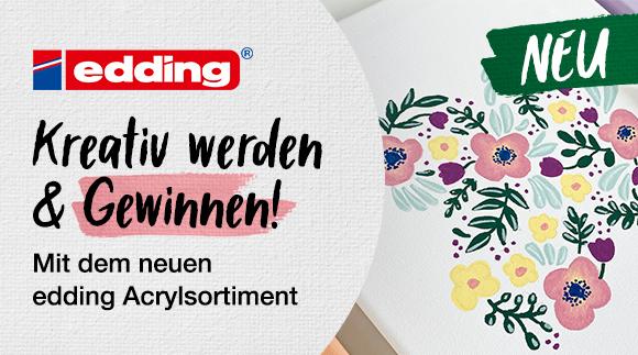 edding - Acrylmalerei leicht gemacht