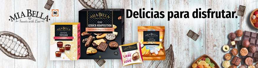 El mundo de los dulces de MIA BELLA