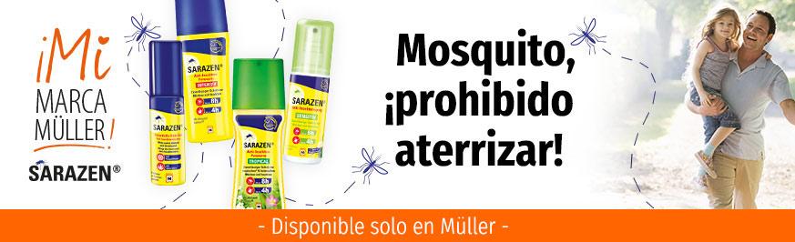 Sarazen - Mosquito, ¡prohibido aterrizar!