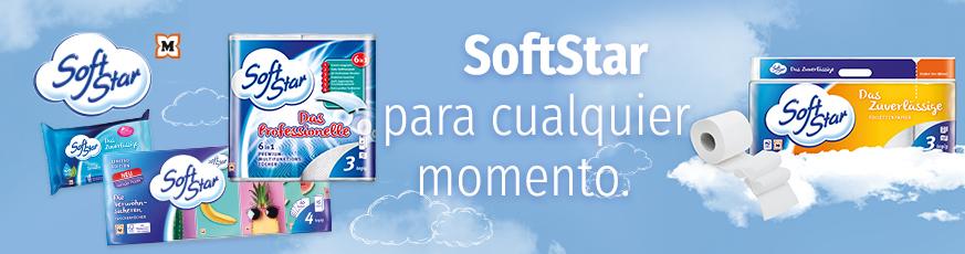SoftStar – Absorbente y resistente