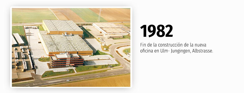 Construcción de las nuevas oficinas en Ulm