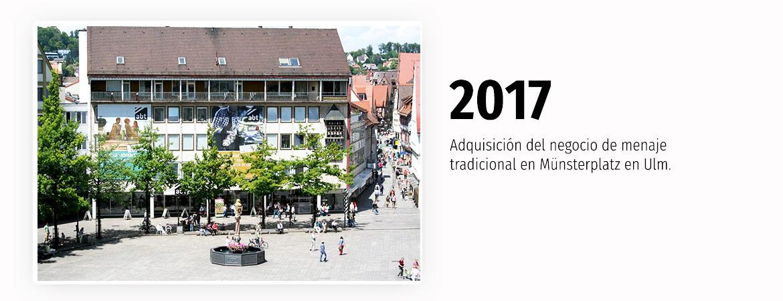 Adquisición del negocio de menaje tradicional en Münsterplatz