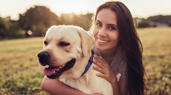 Tag mit dem Hund