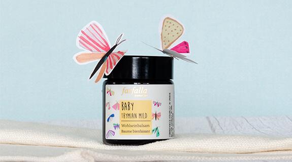 farfalla Baby, Thymian mild, Wohlsein-Balsam