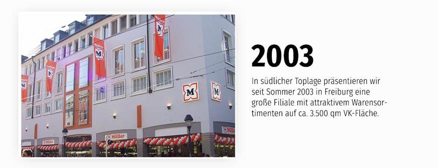 Flaggschiff mit attraktivem Sortiment - die Filiale Freiburg