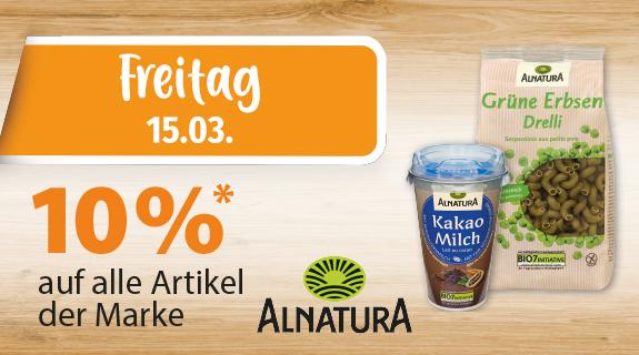 10% auf Alnatura Produkte