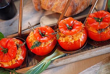 Gefüllte Couscous-Tomaten