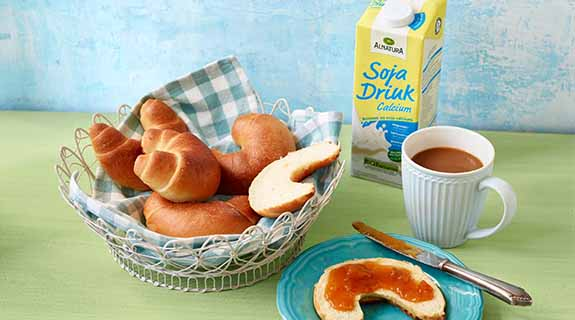 Cruasanes para el desayuno