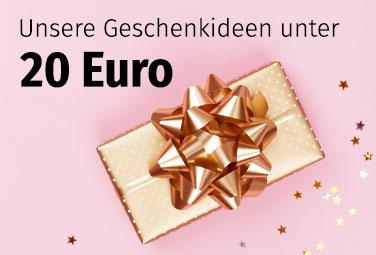 Geschenkideen unter 20 Euro