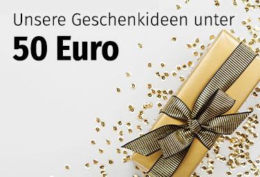Geschenkideen unter 50 Euro