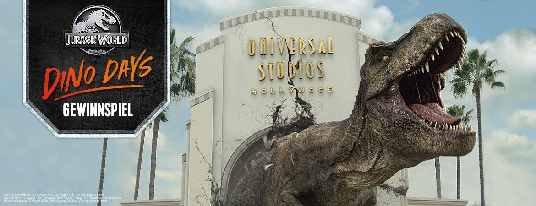 Jurassic World Dino Days Gewinnspiel