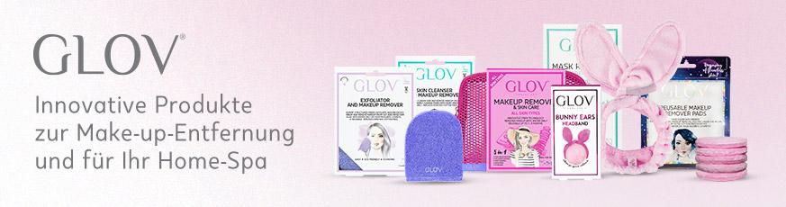 Übersicht der GLOV-Produkte für einfaches Abschminken