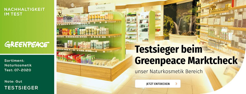 Testsieger beim Greenpeace Marktcheck