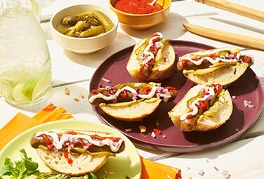 Mini-Hotdogs