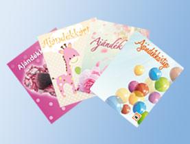 Ajándékkártyák - Mert az ajándékozás örömet okoz!