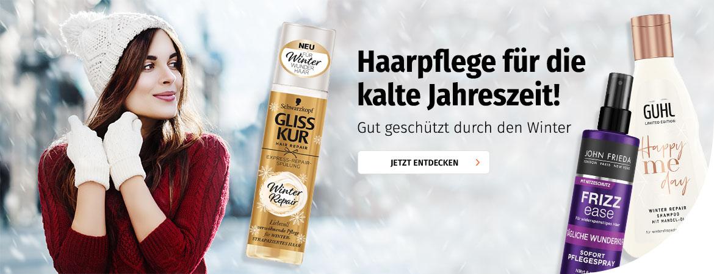 Haarpflege für die kalte Jahreszeit