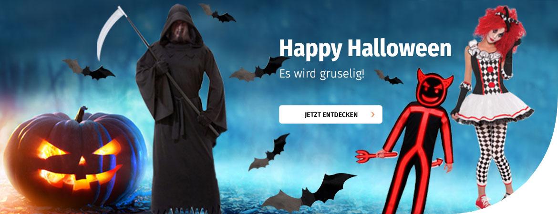 Halloween bei Müller