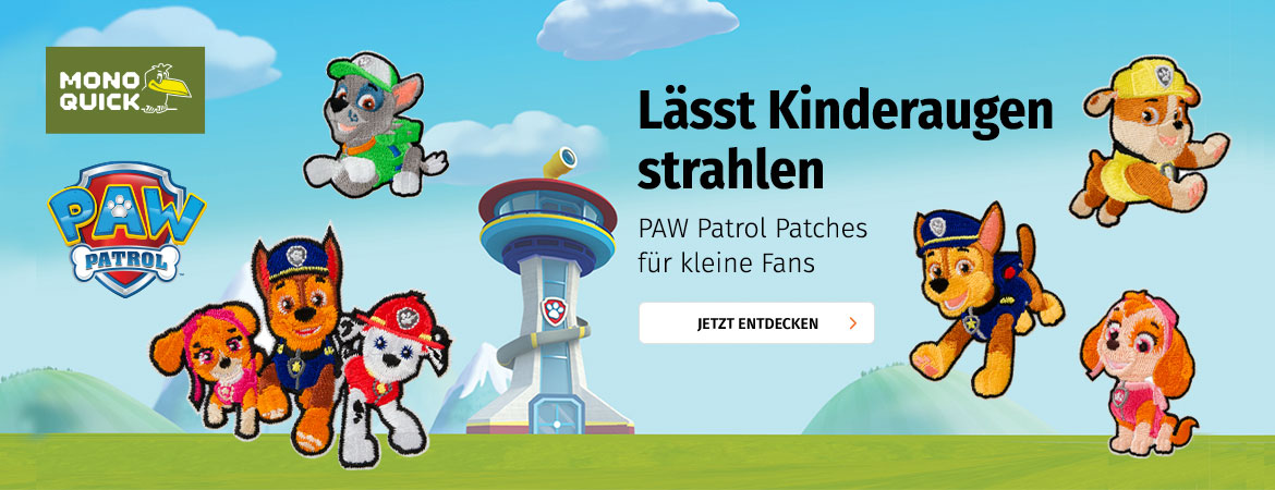 PAW Patrol Patches bei Müller