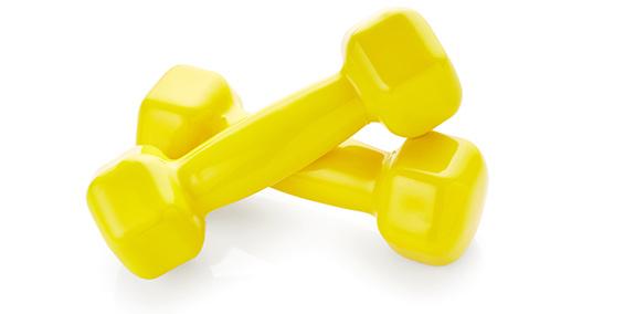 Hanteln für das Workout