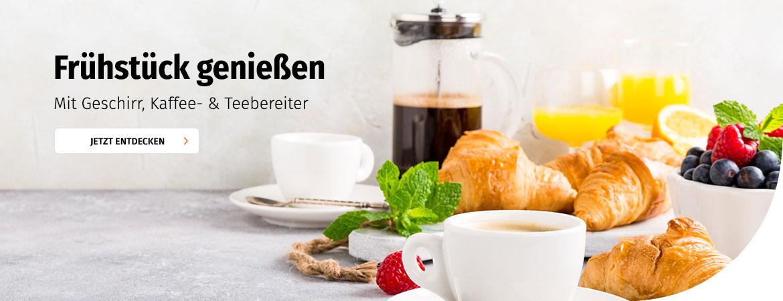 Geschirr-, Tee- & Kaffeebereiter