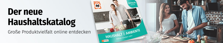 Haushaltskatalog - Jetzt bei Müller!