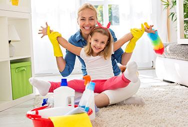 Reinigungshelfer für ein sauberes Zuhause
