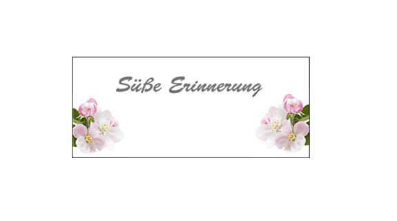 Hochzeitsmarmelade - Etikett 3
