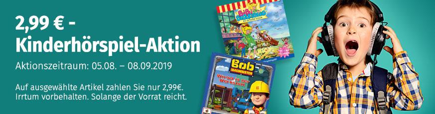 Kinderhörspiele für je 2,99 €