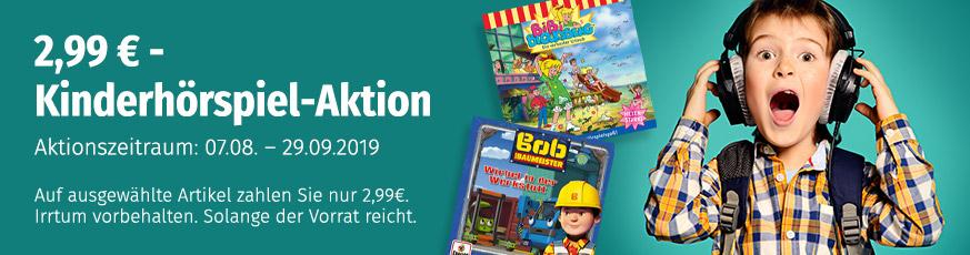 Kinderhörspiele für je 2,99€