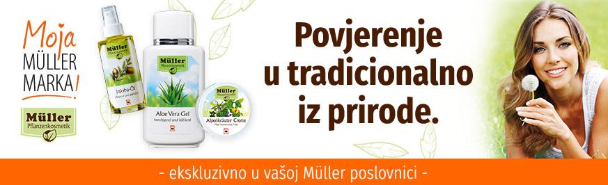 Müller prirodne kozmetike - Povjerenje u tradicionalno iz prirode