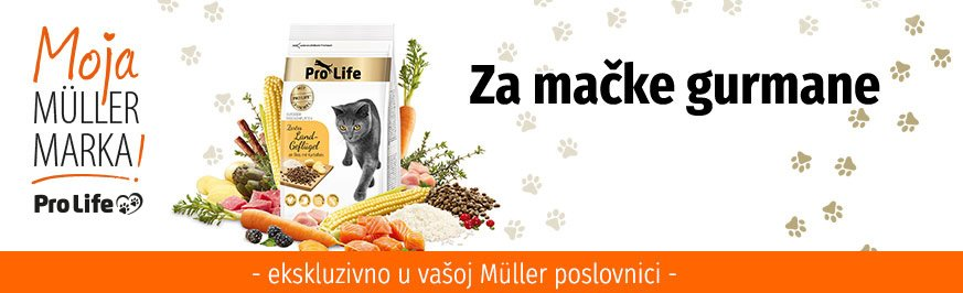 Pro Life mačka - Za mačke gurmane