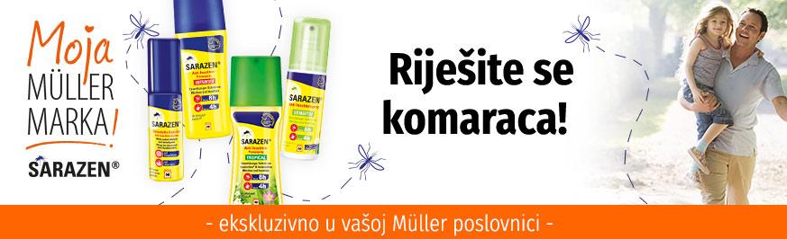 Sarazen - Pouzdana zaštita od uboda komaraca i ugriza krpelja