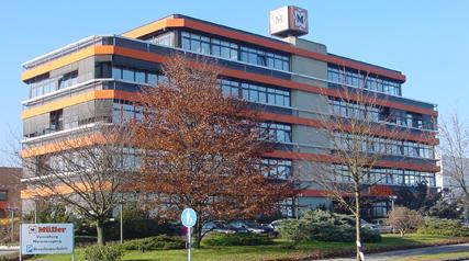 Firmenzentrale in Ulm-Jugingen