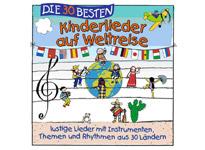 Die dreißig Besten - Kinderlieder auf Weltreise