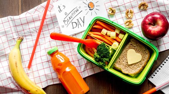 Schnelle Snacks – Ideen für die Schule