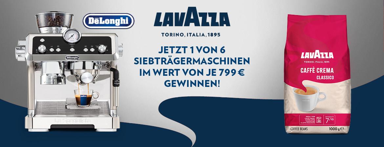 Lavazza Gewinnspiel