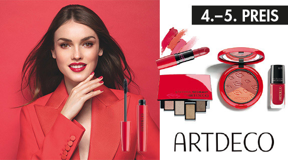 LUXUS Gewinnspiel: 4.+5. Preis ARTDECO Make-up-Bag